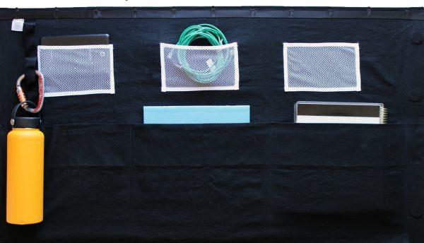 three-high-left-rack-curtain-storage
